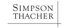 Organization logo Simpson Thacher